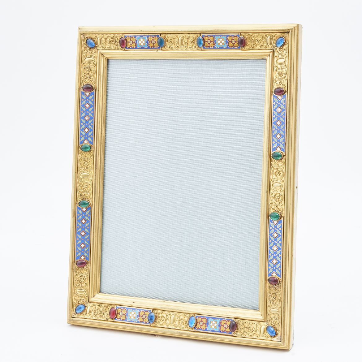 French Ormolu And Enamel Frame