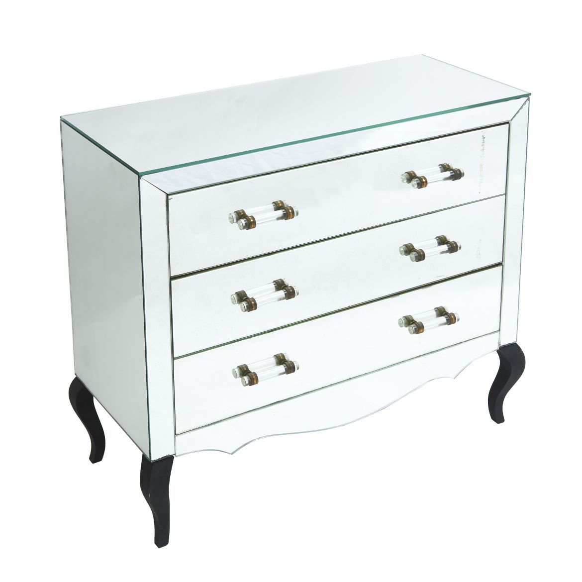 French Mirrored Commode