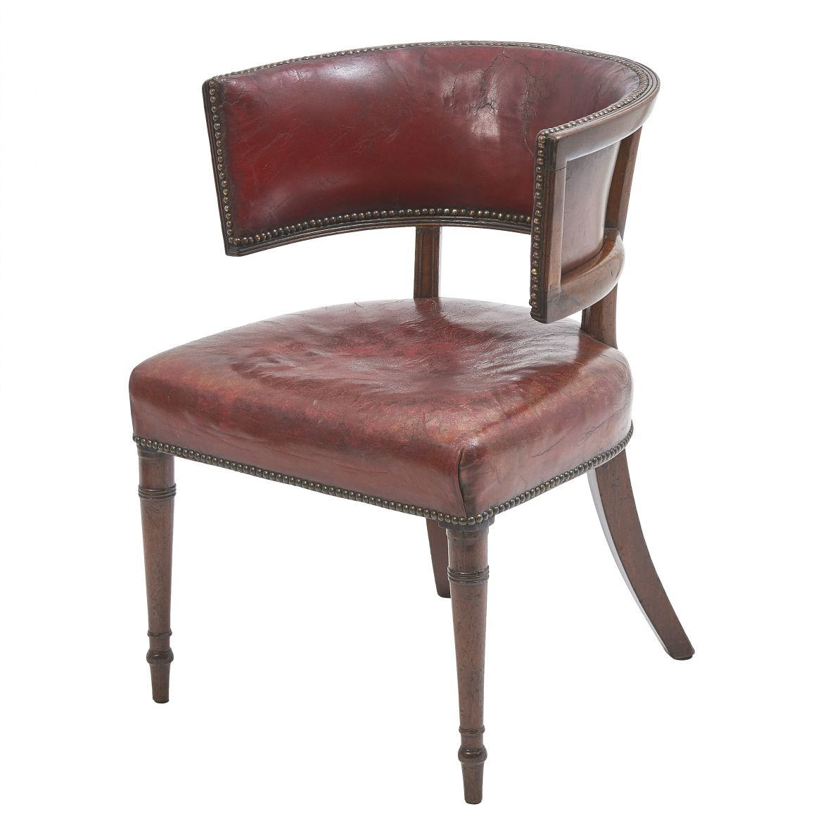 William IV Klismos Style Desk Chair
