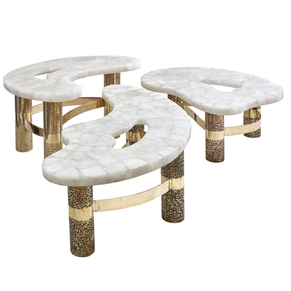 Jean Arriau Rock Crystal Pamukkale Table