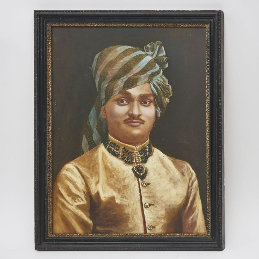 Indian Painting Of A Maharajah