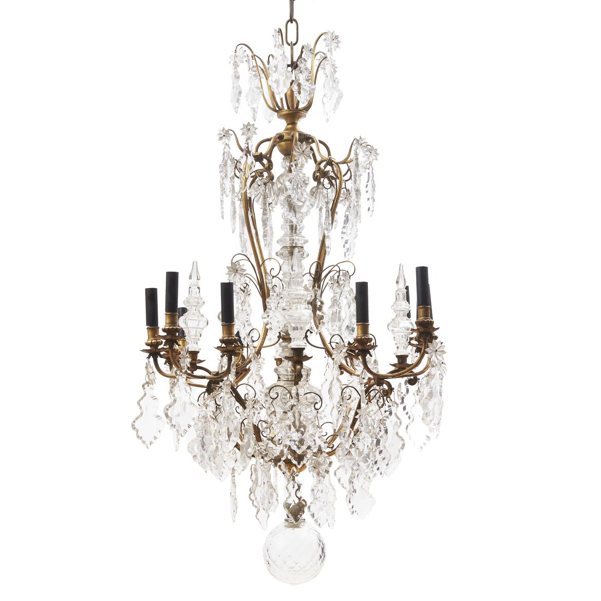 Louis Philippe Twelve Arm Chandelier