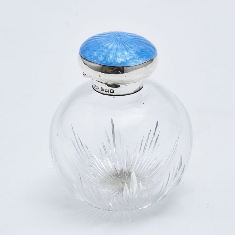 Small John Grinsell and Sons Perfume Bottle