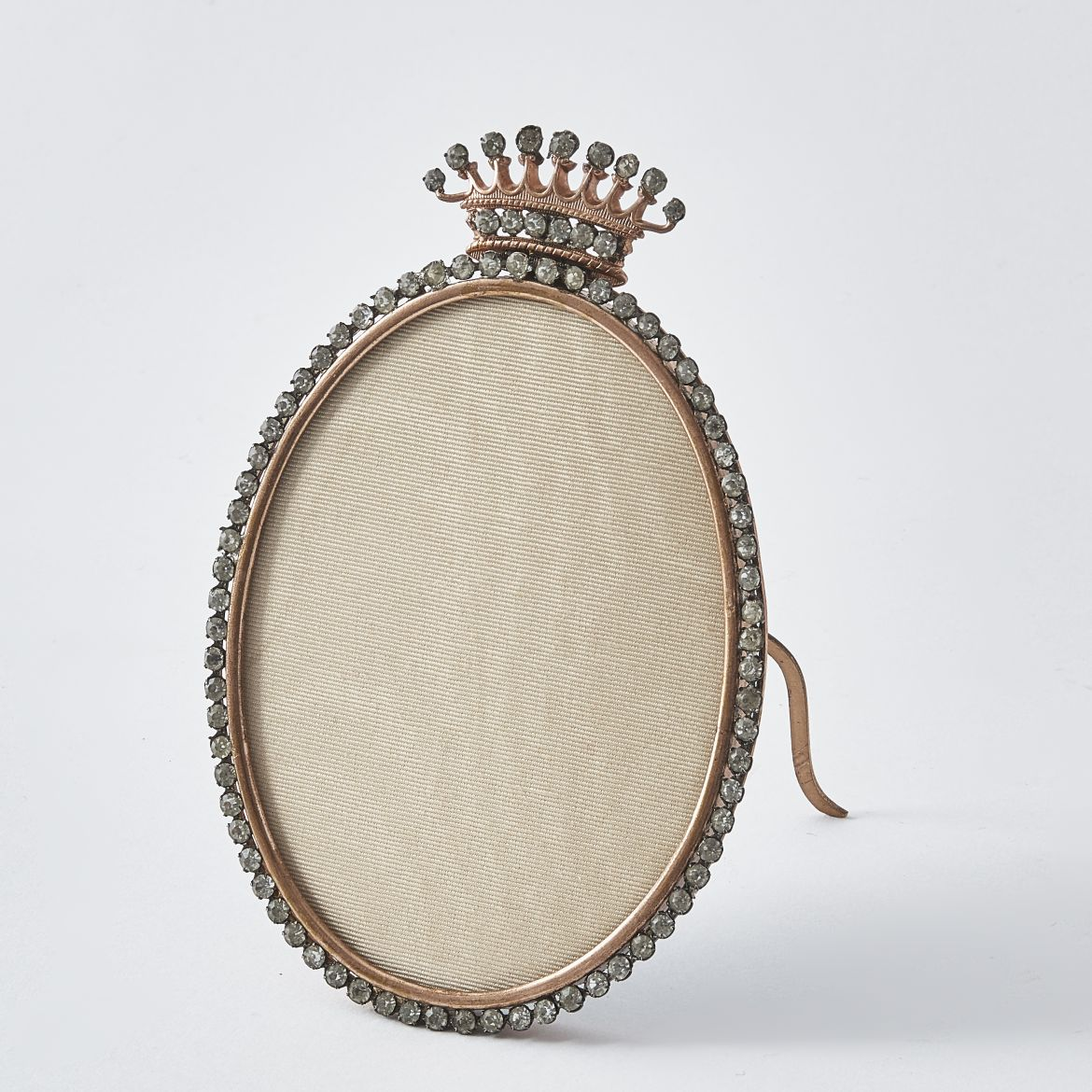 French Oval Paste Photo Frame