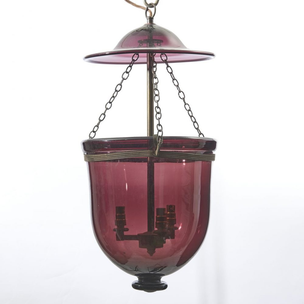 Amethyst Glass Mosque Lantern