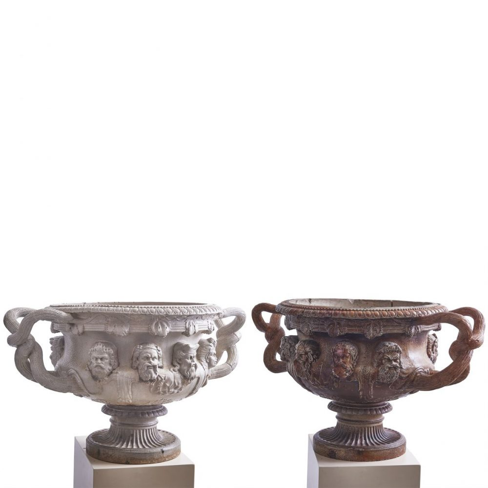 Grand Tour Urns After The Warwick Vase