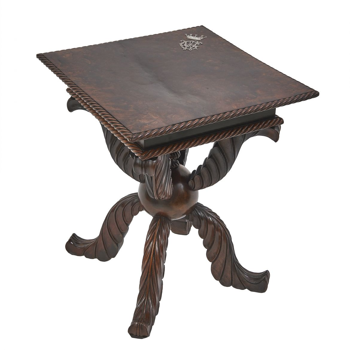 Rosewood Colonial Side table