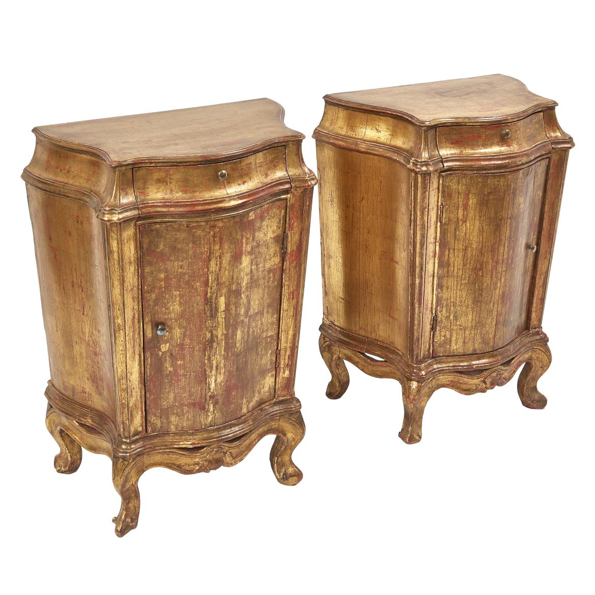 Venetian Giltwood Roccoco cabinets