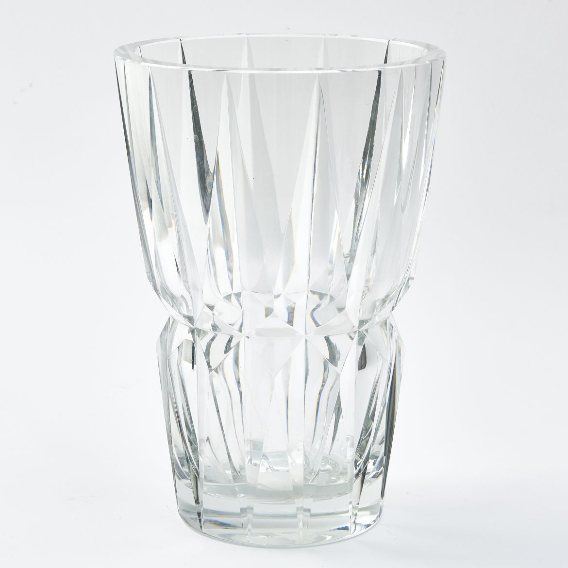 French St Louis Crystal Vase