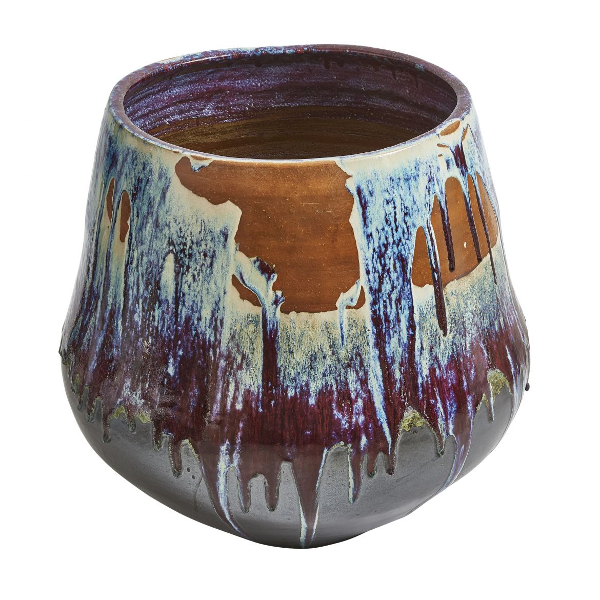 Japanese Drip Glaze Pot