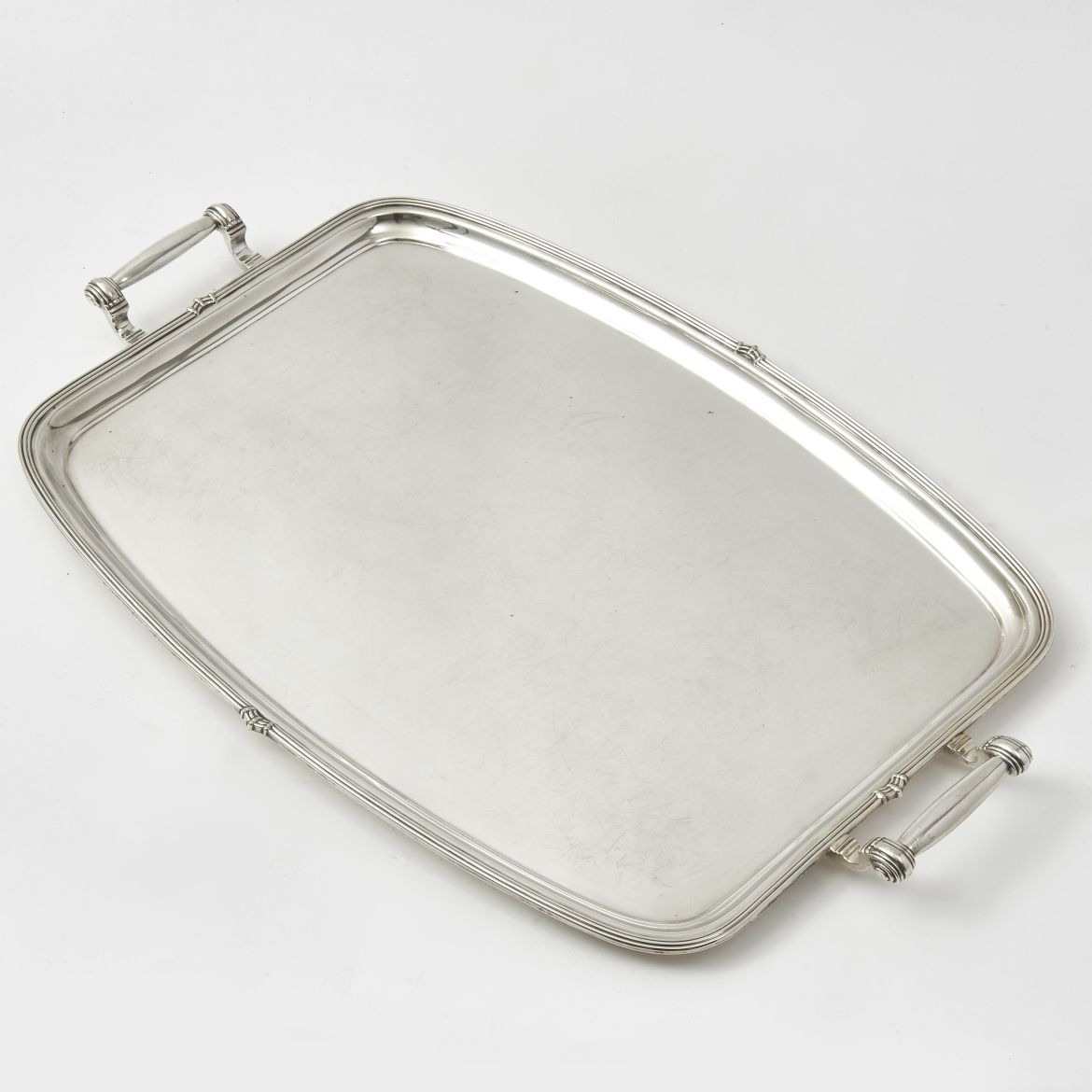 English Silver Plate Tray