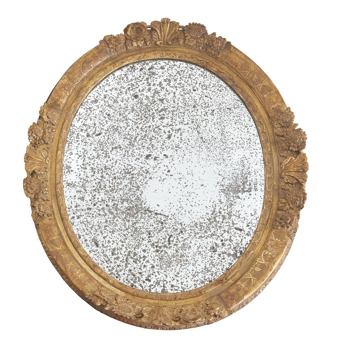 Charles X Giltwood Mirror