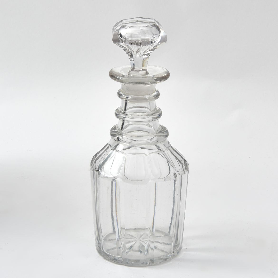 Victorian Triple Ring Decanter
