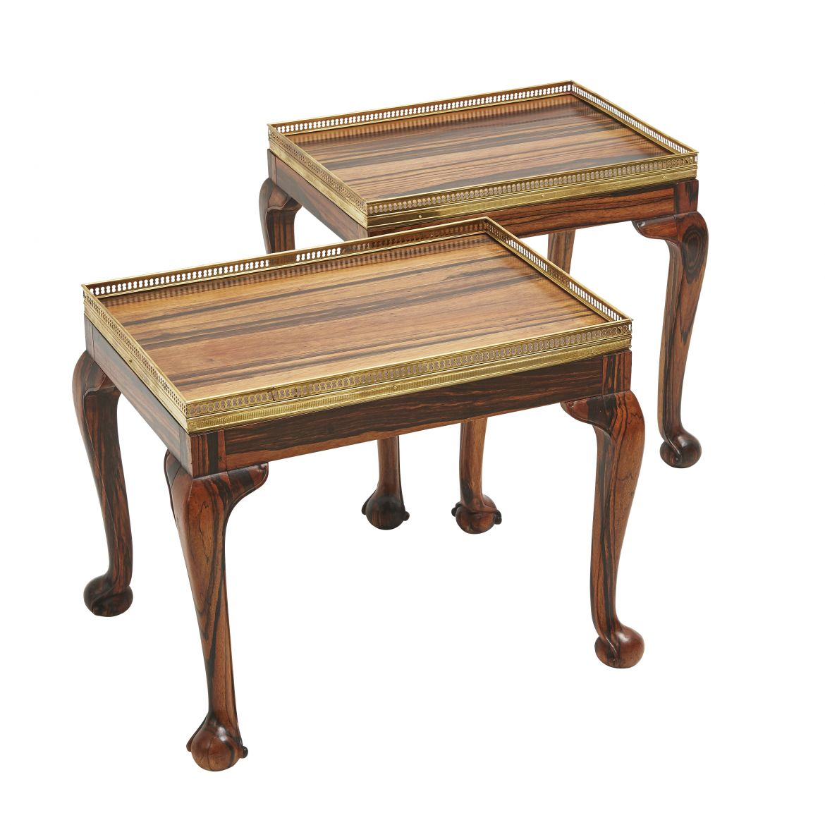 Pair Anglo Indian Coromandel Tables