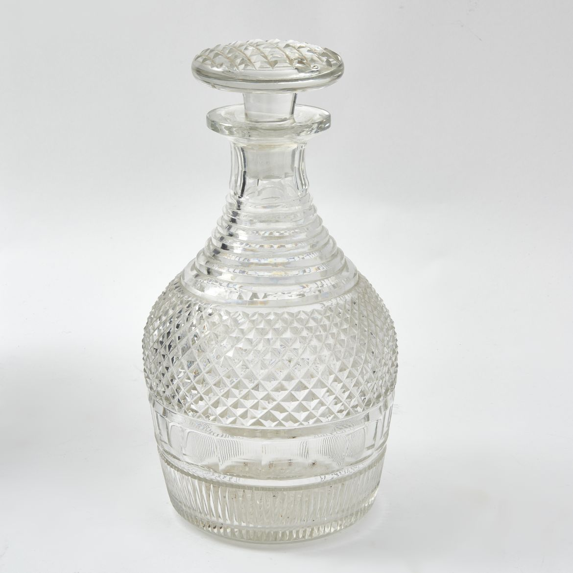 Victorian Cut Crystal Magnum Decanter