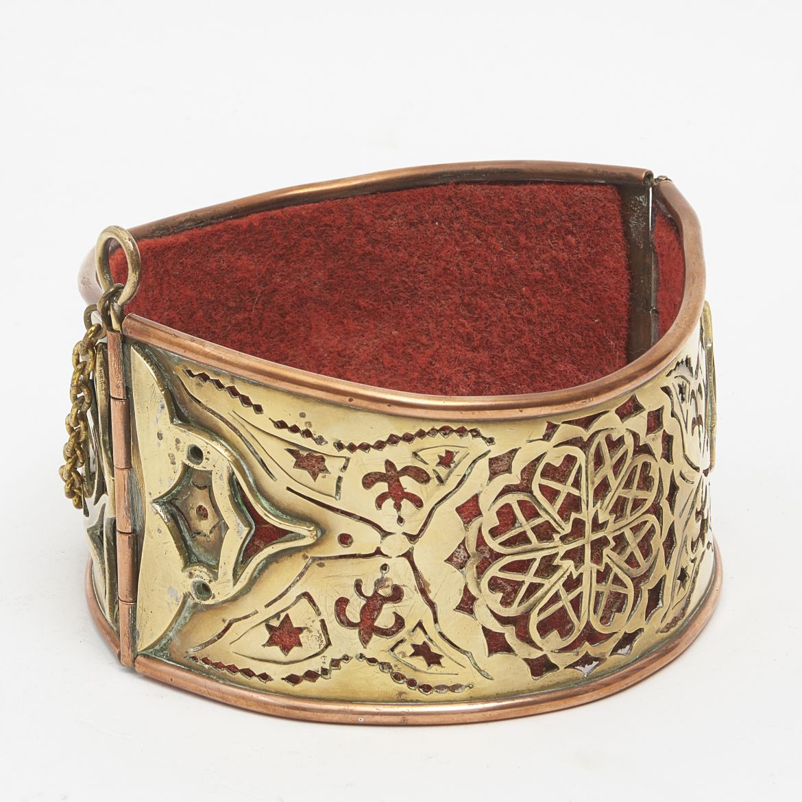 Islamic Copper Dog Collar