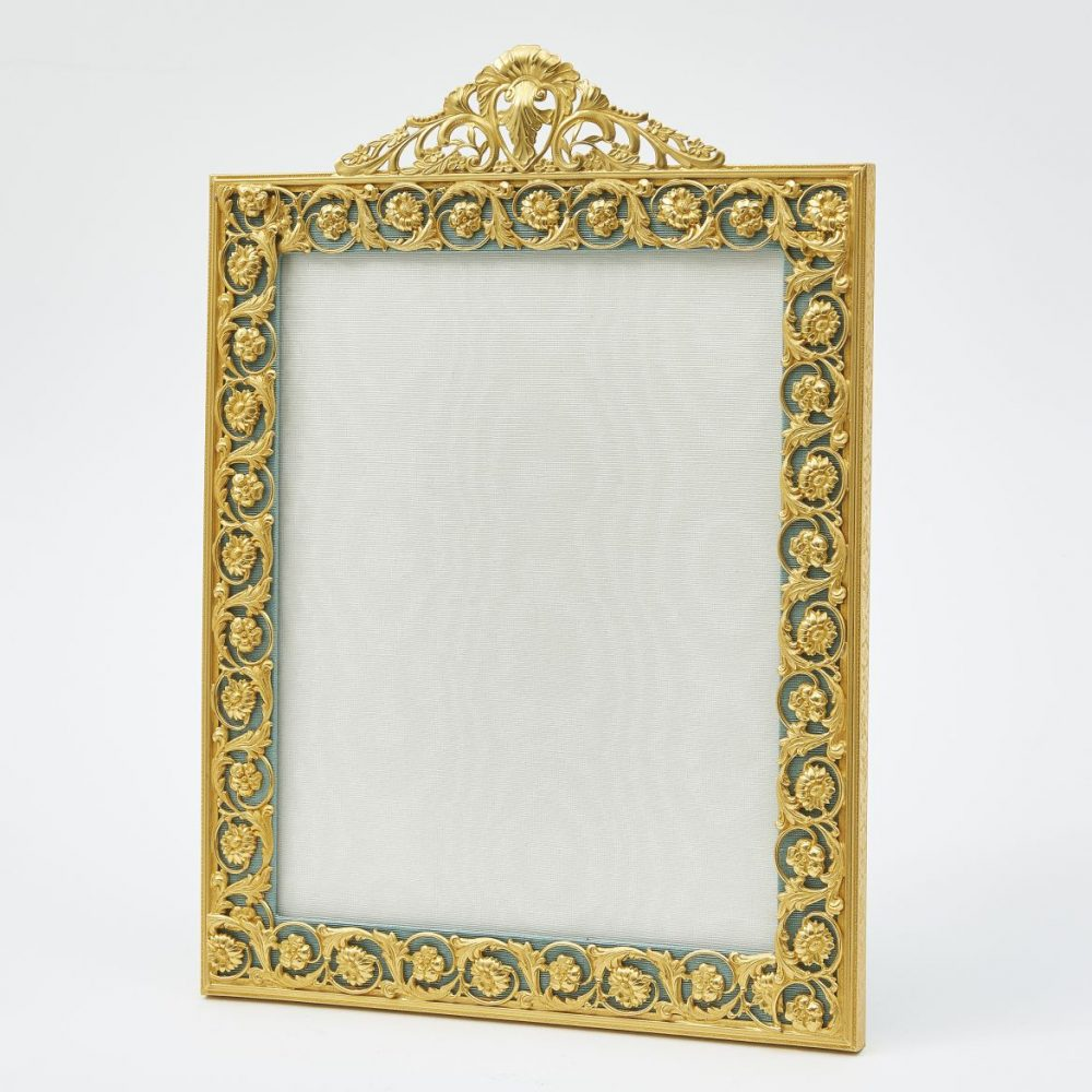 Large French Ormolu Photo Frame