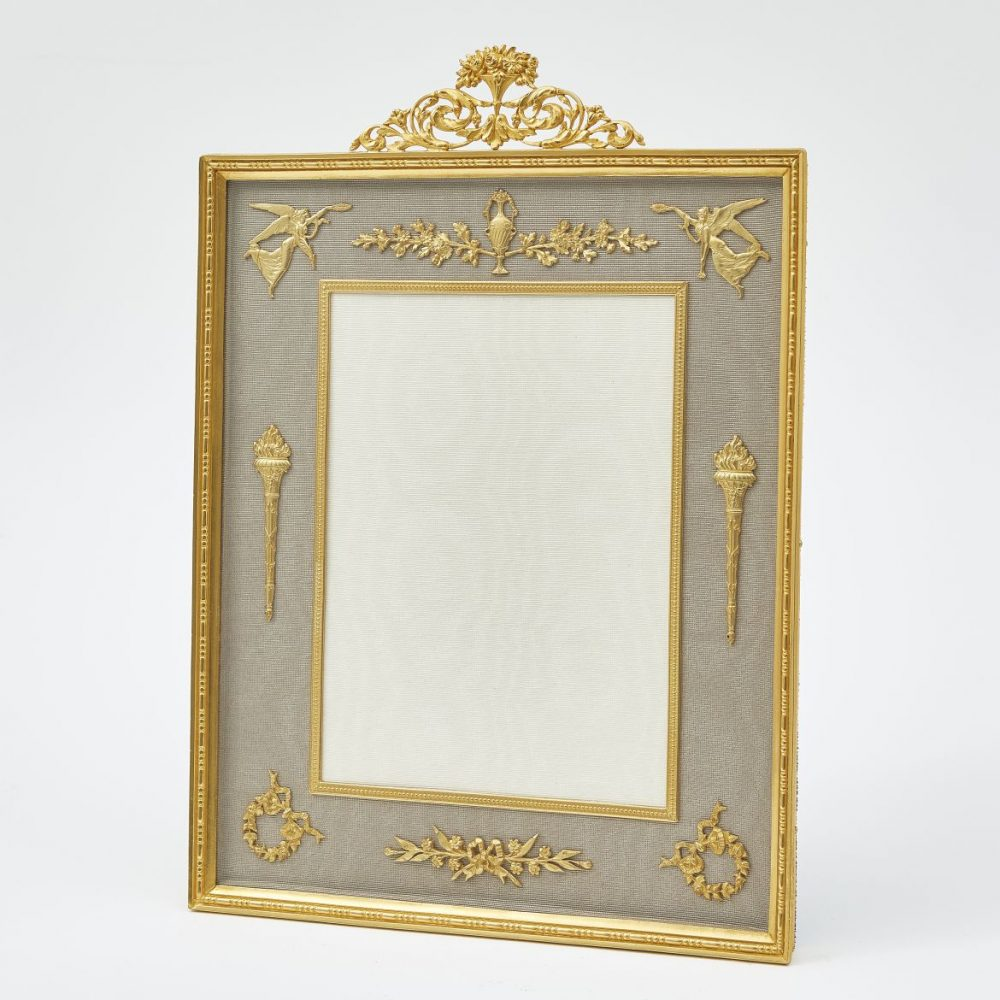 Large French Neoclassical Photo Frame