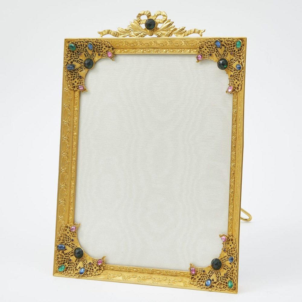 French Gilt And Paste Photo frame