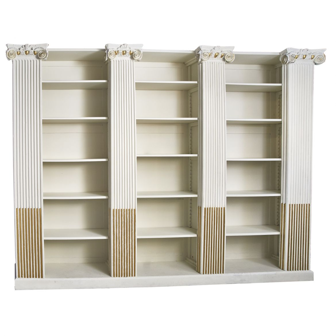Large Neoclassical Bookcase
