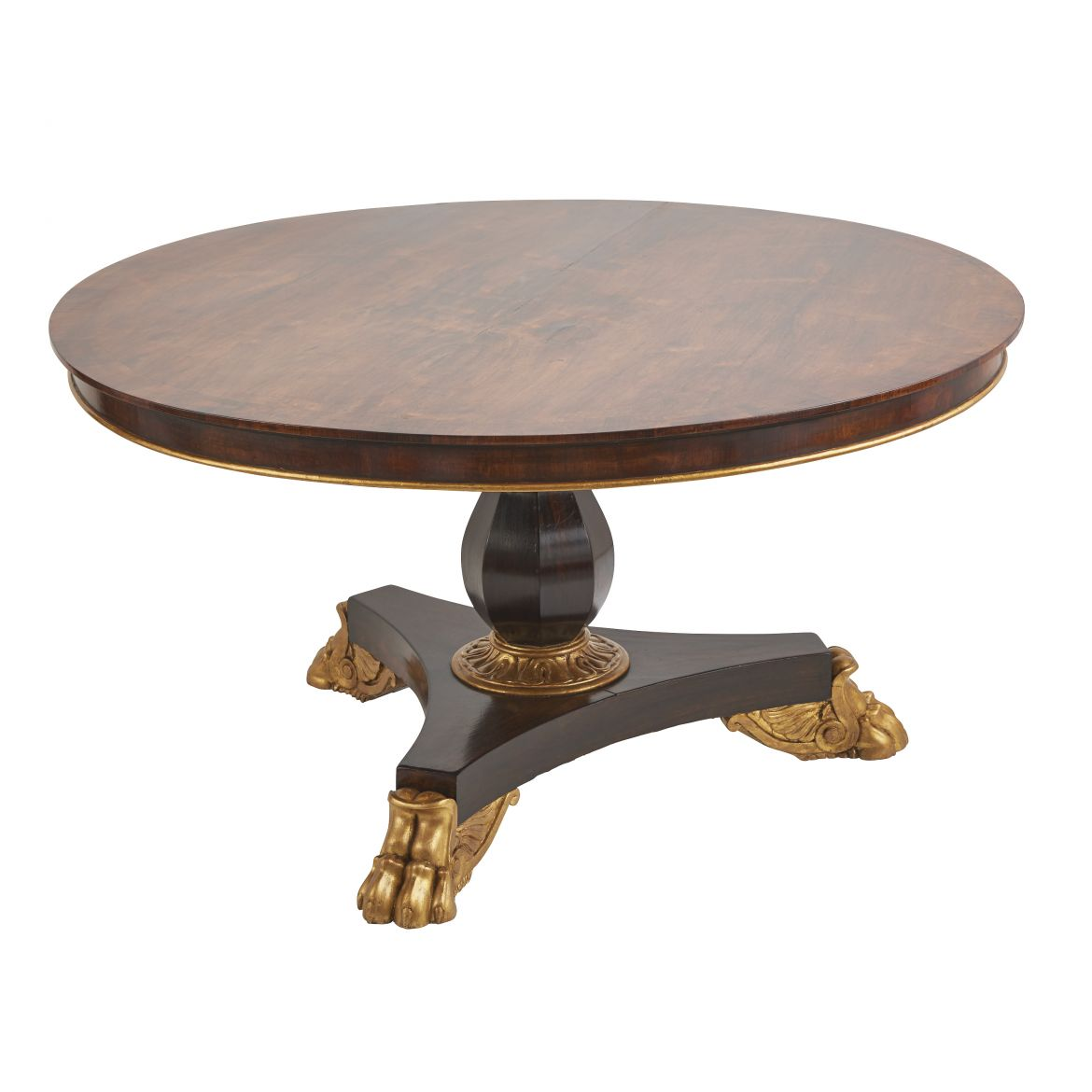 English Regency Rosewood Breakfast Table