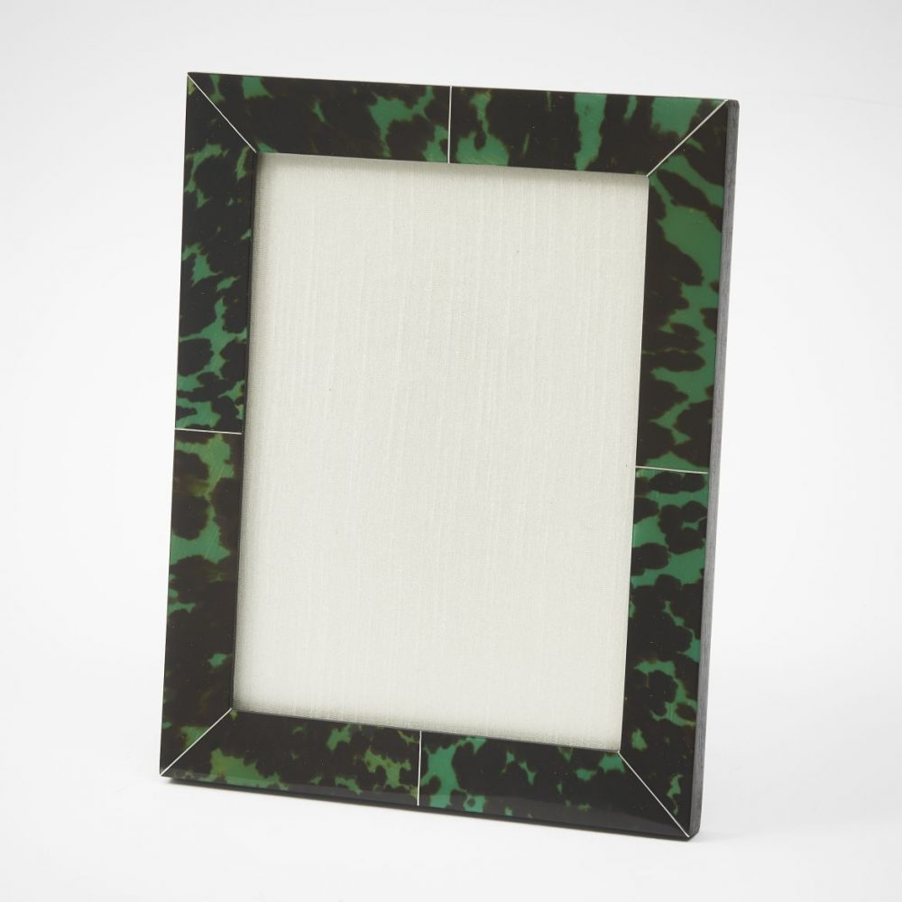 Green Tortoiseshell Photo Frame