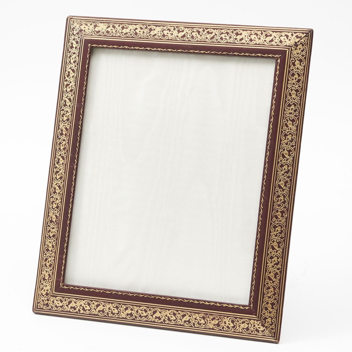 Edwardian Tooled Leather Frame