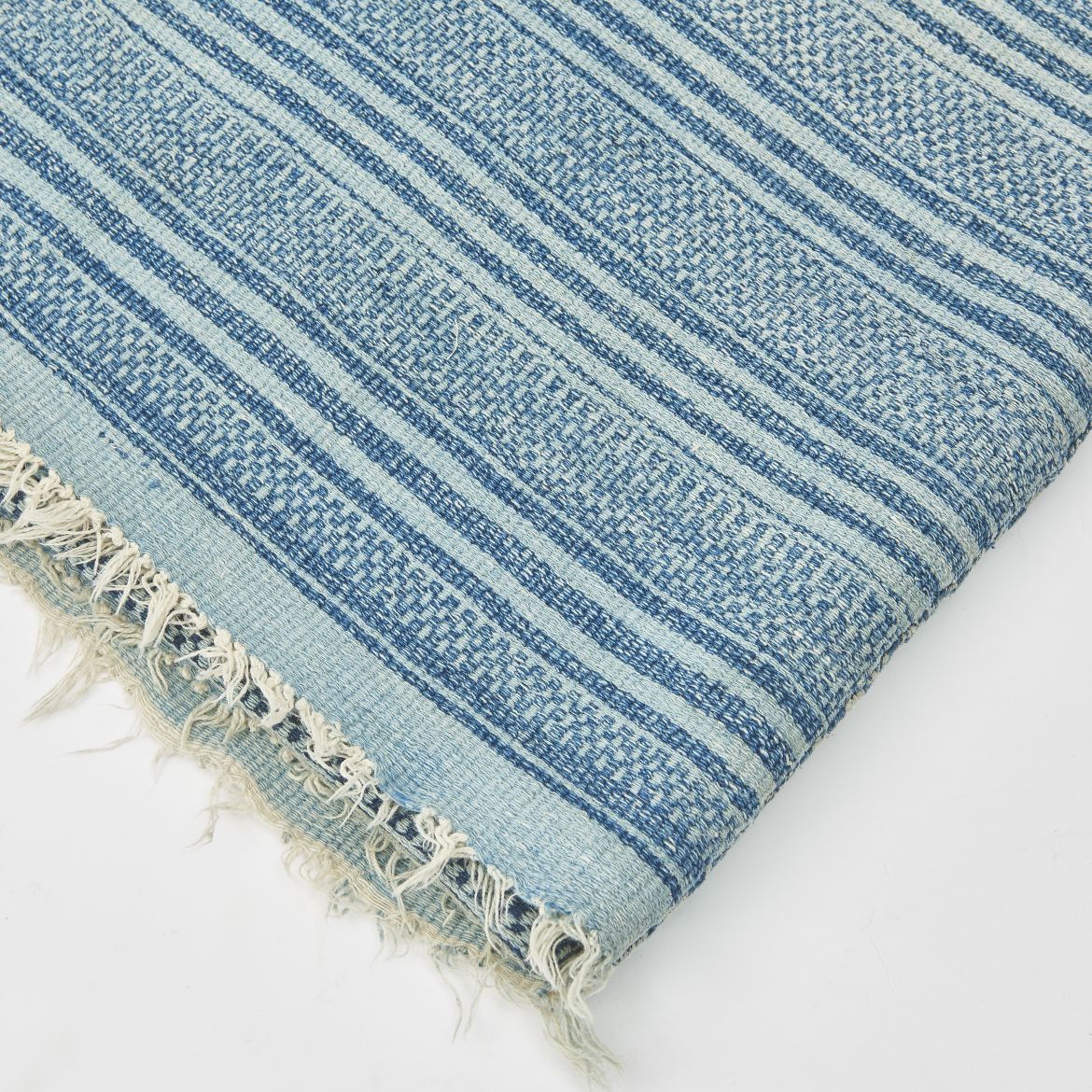 Indigo Dyed African Throw