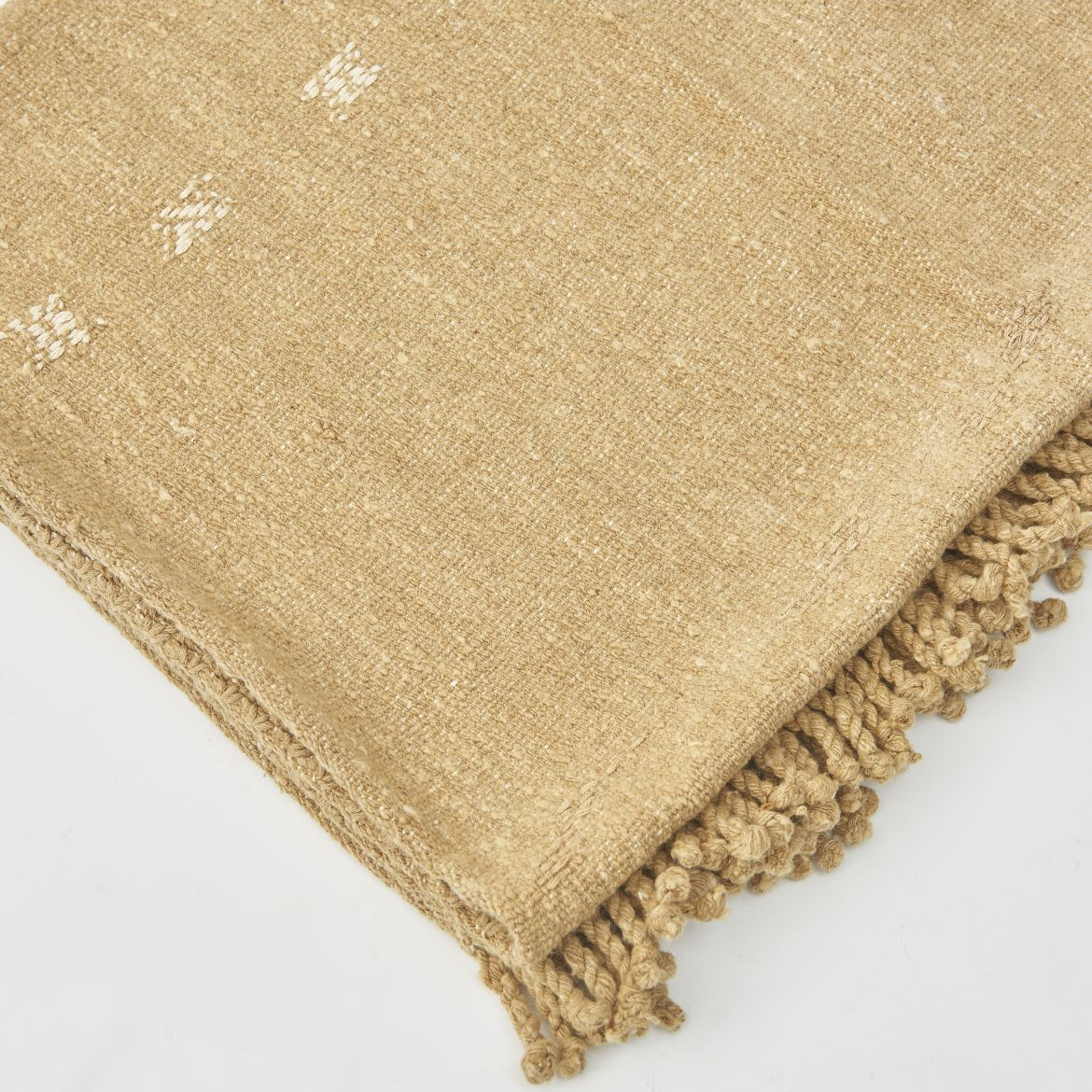 Hand Woven Guatemalan Cotton Throw