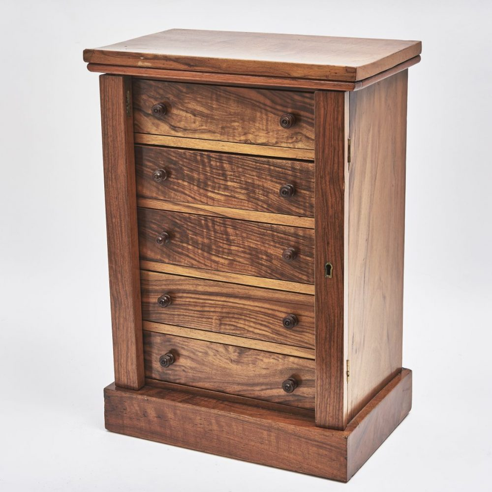 Rosewood Miniature Wellington Chest
