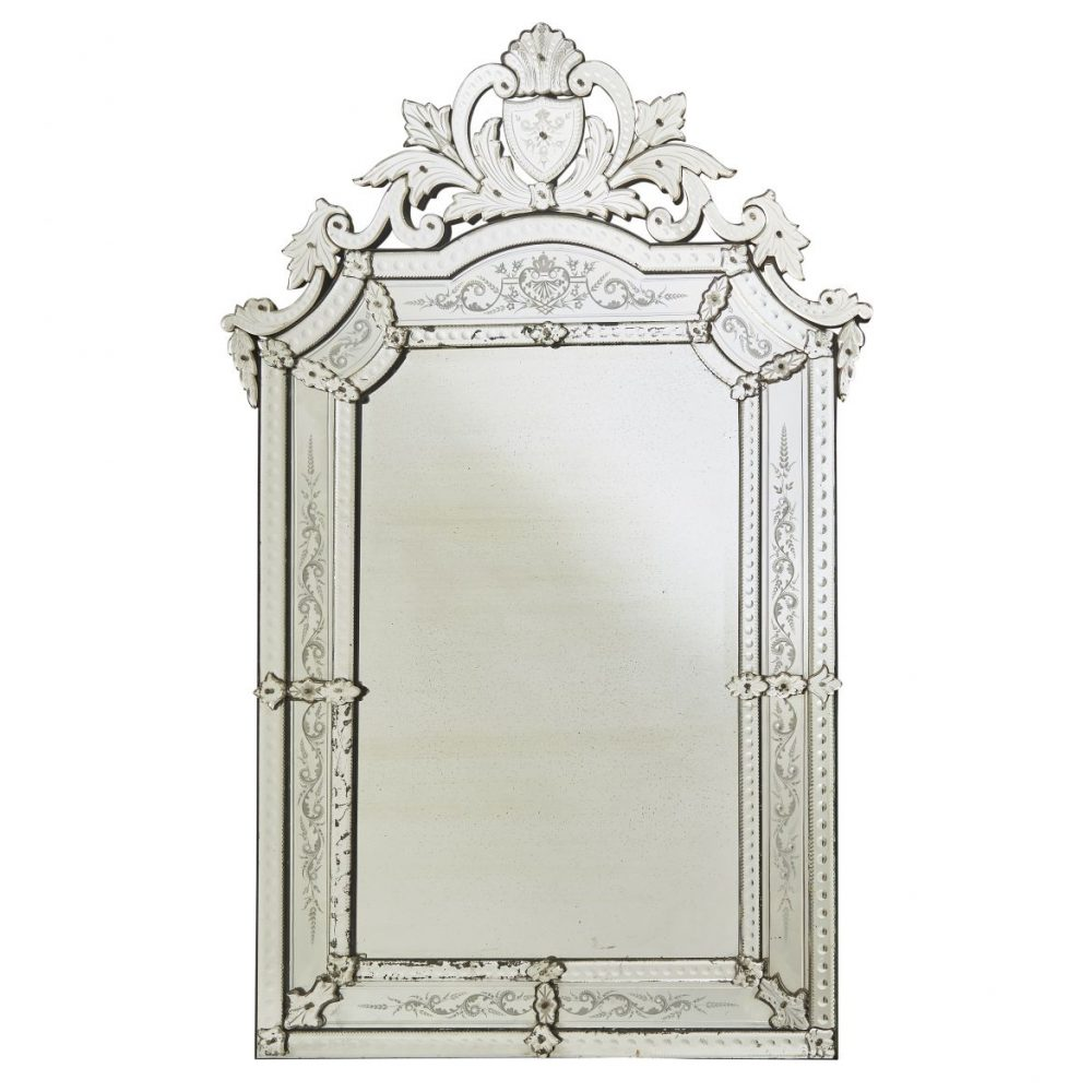 Large French Venetian style Mirror