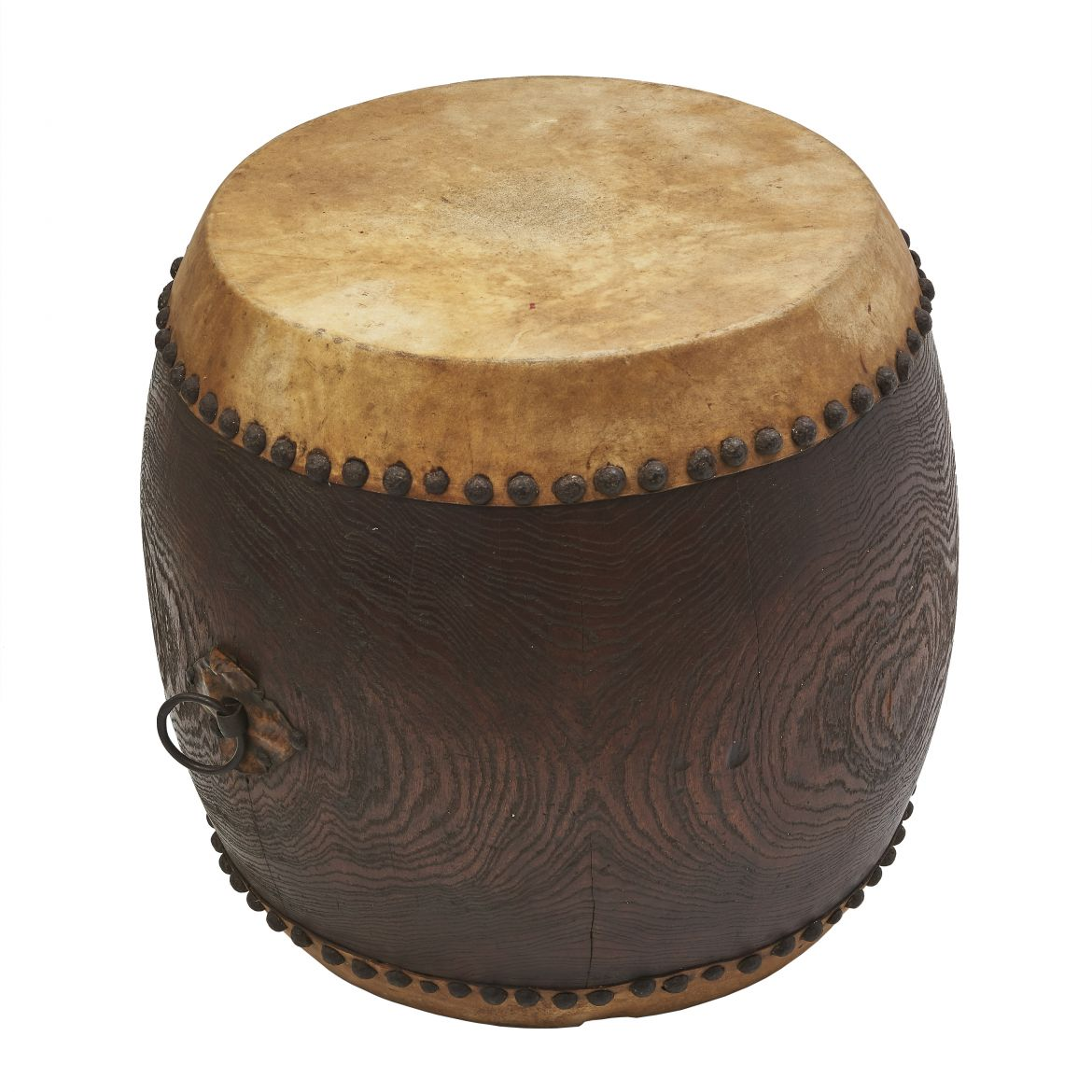 Japanese Early 20th Century Drum