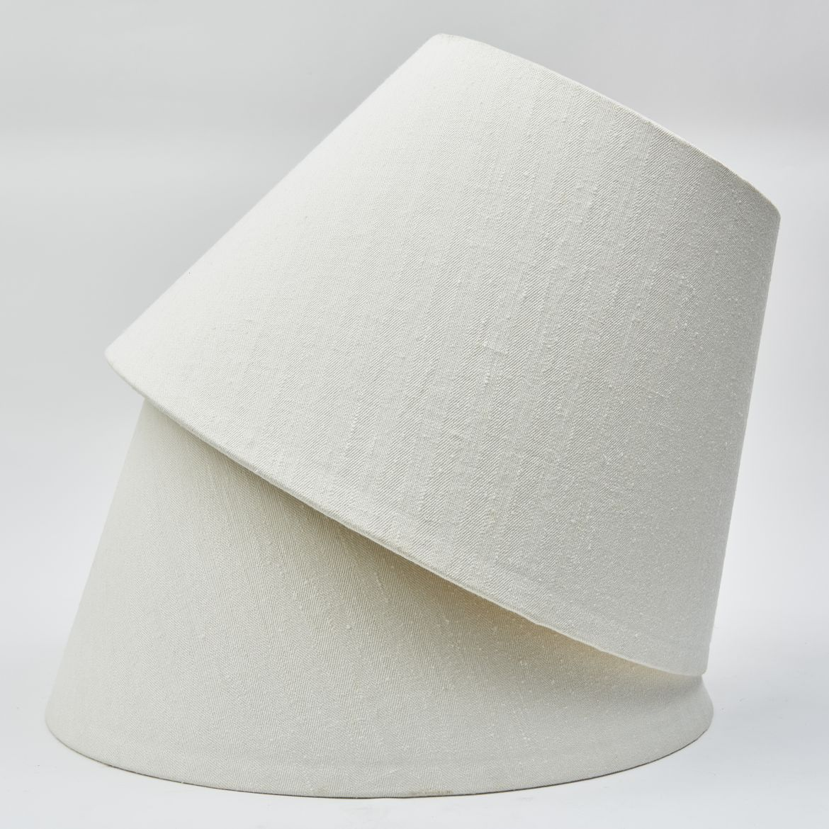 White Linen Lampshades