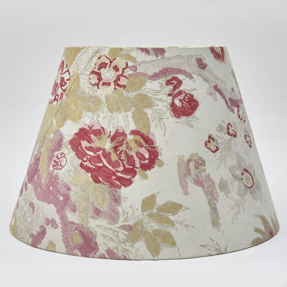 Single Block Print Fabric Shade