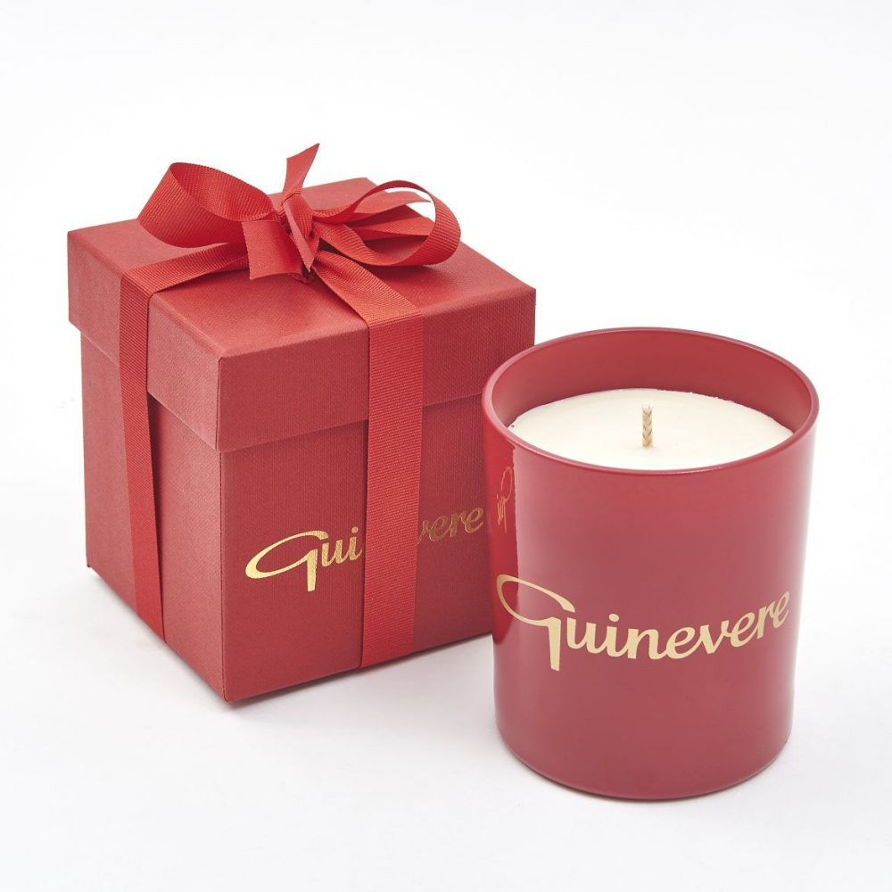 Guinevere Red Candle
