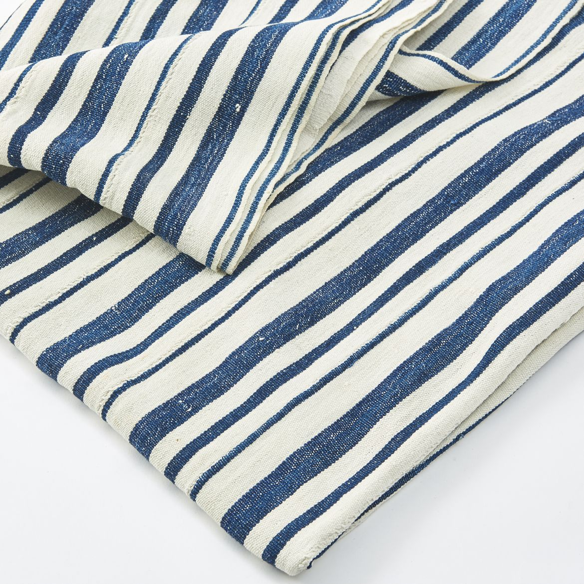 Blue And White African Throw