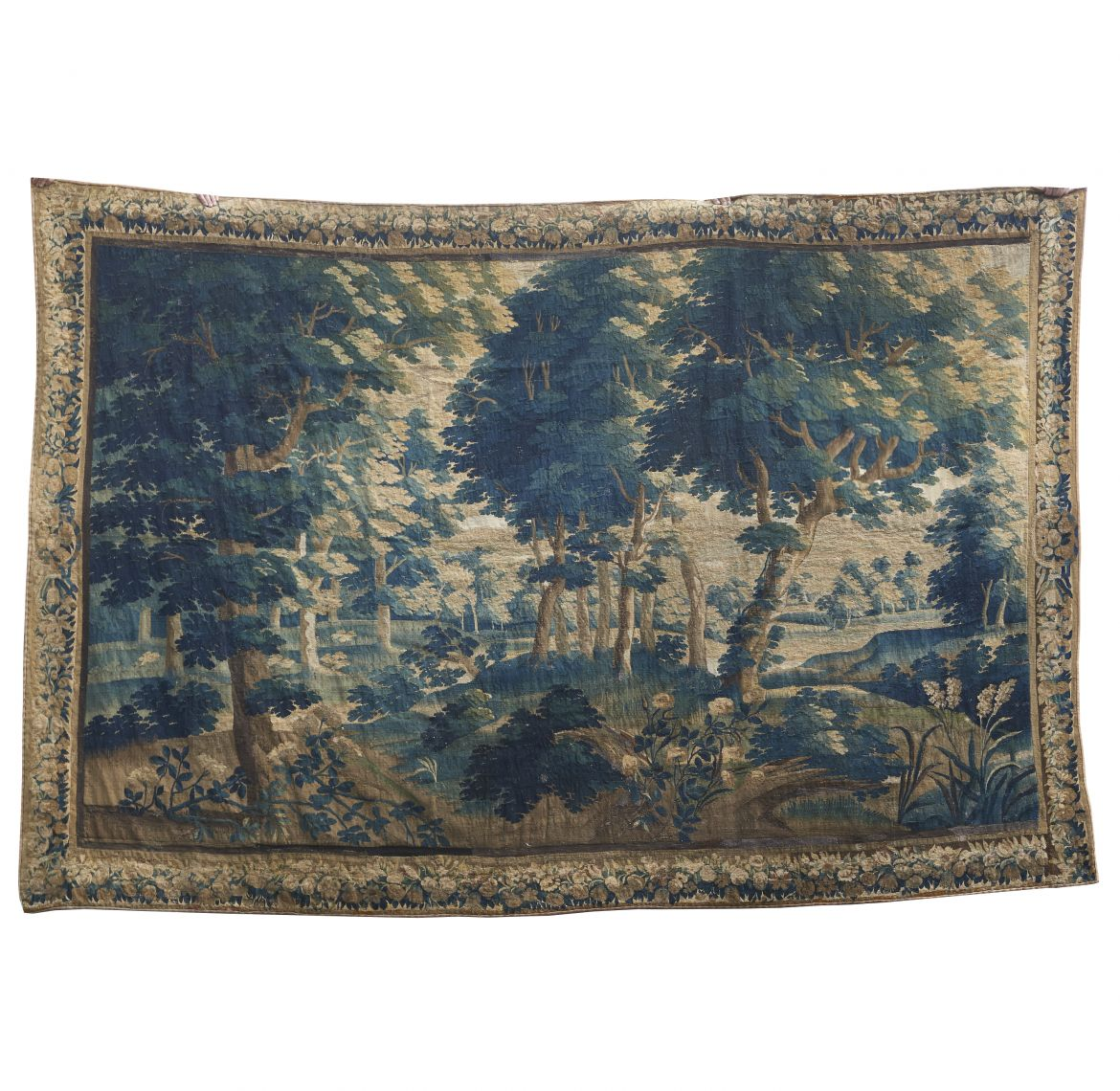 C18th Brussels Verdure Tapestry