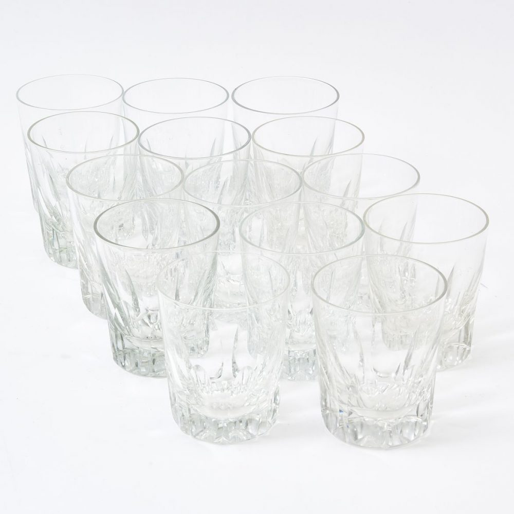Matched Set Of William IV Crystal Tumblers