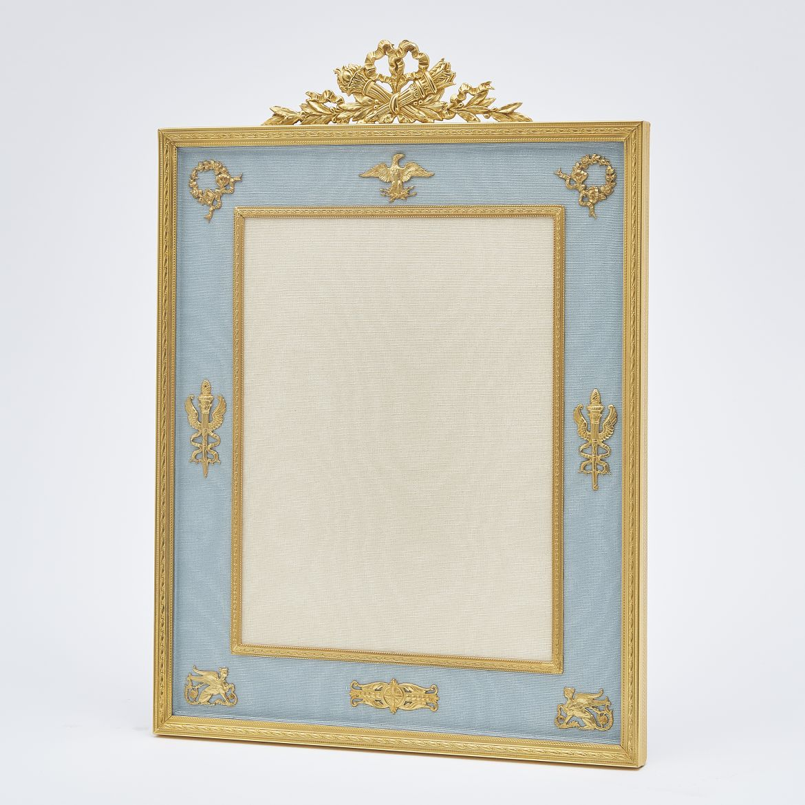 Rectangular Gilt Bronze Photo Frame