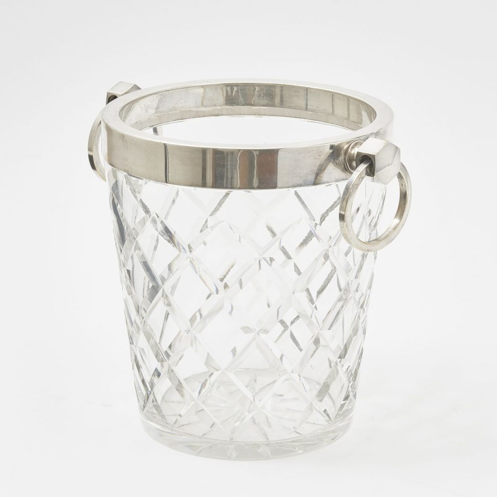 French Cut Crystal Champagne Cooler