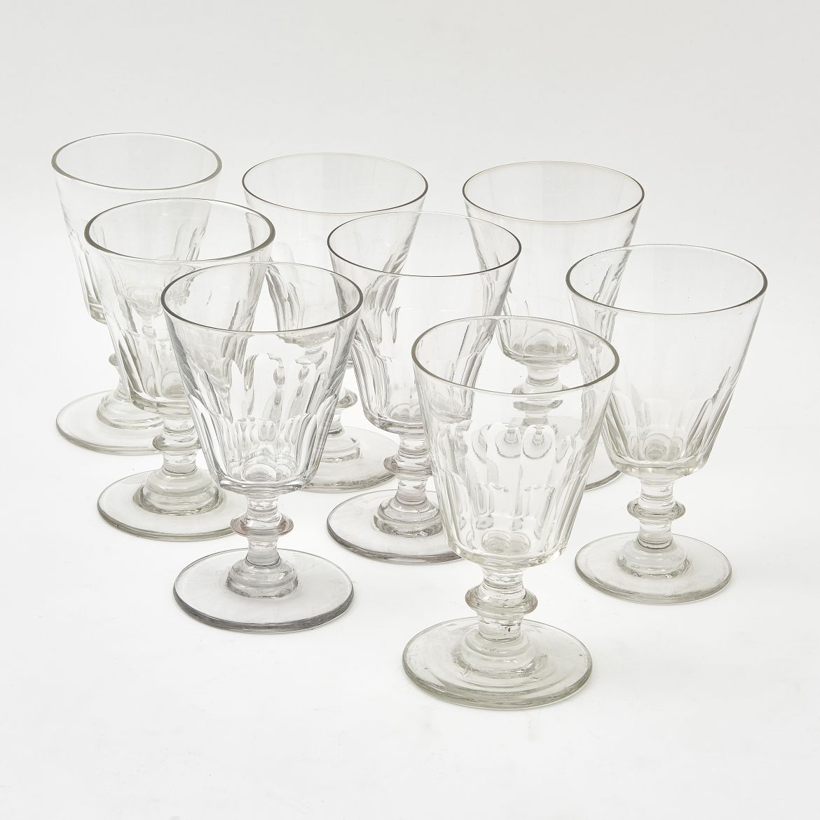 Set Eight French Glasses