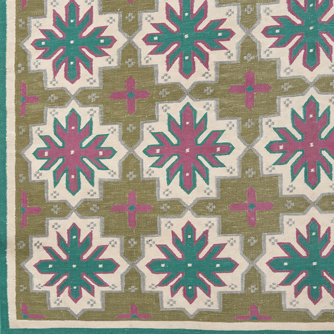 Geometric Indian Dhurrie