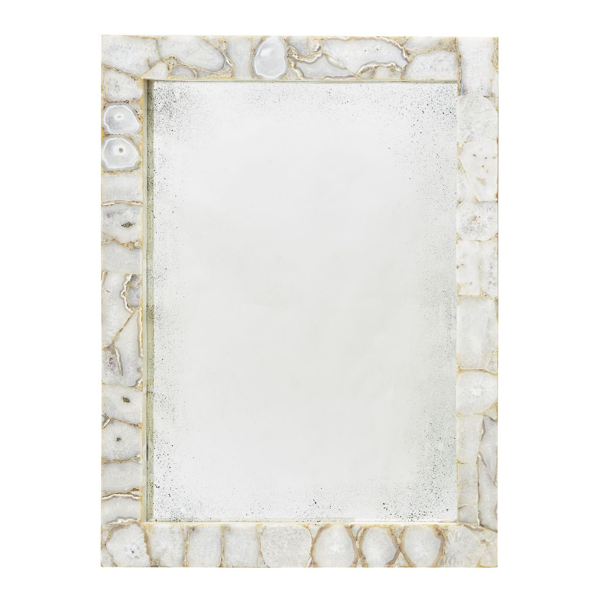 White Agate Mirror