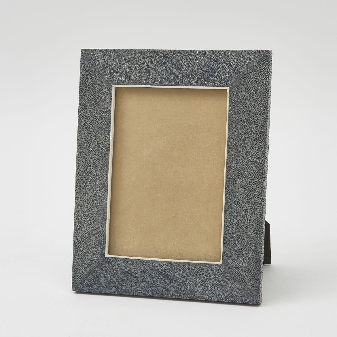 Grey Shagreen Photo Frame