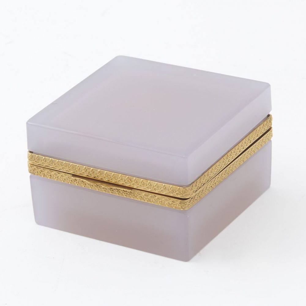 Square Alexandrite Glass Box