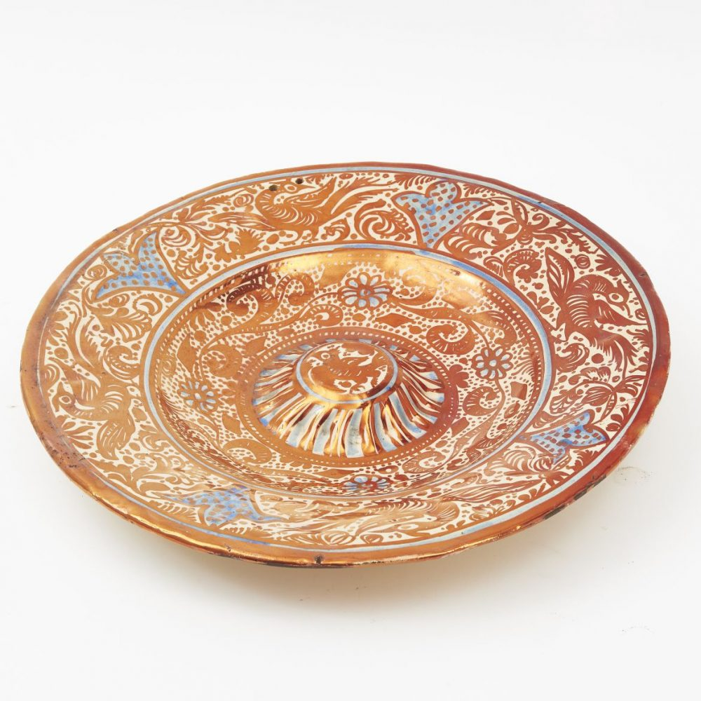 Hispano-Moresque Lustre Charger