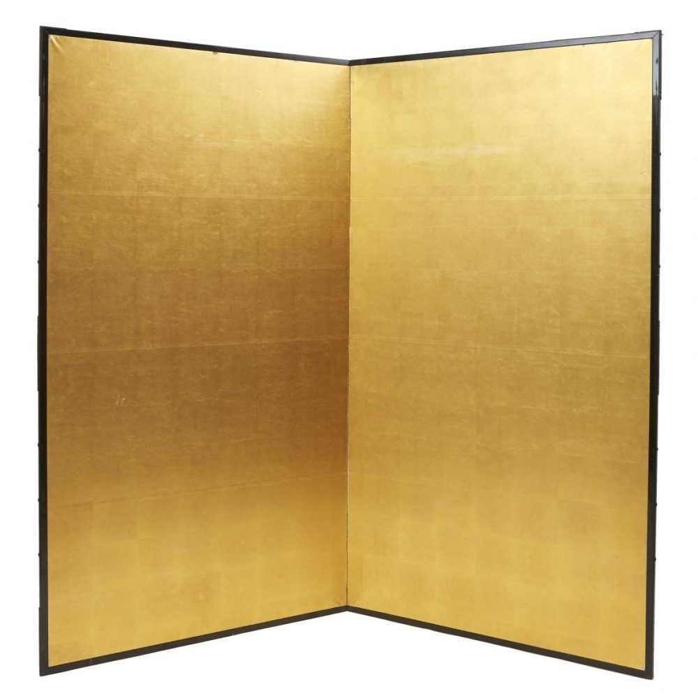 Japanese Gold Paper Screen