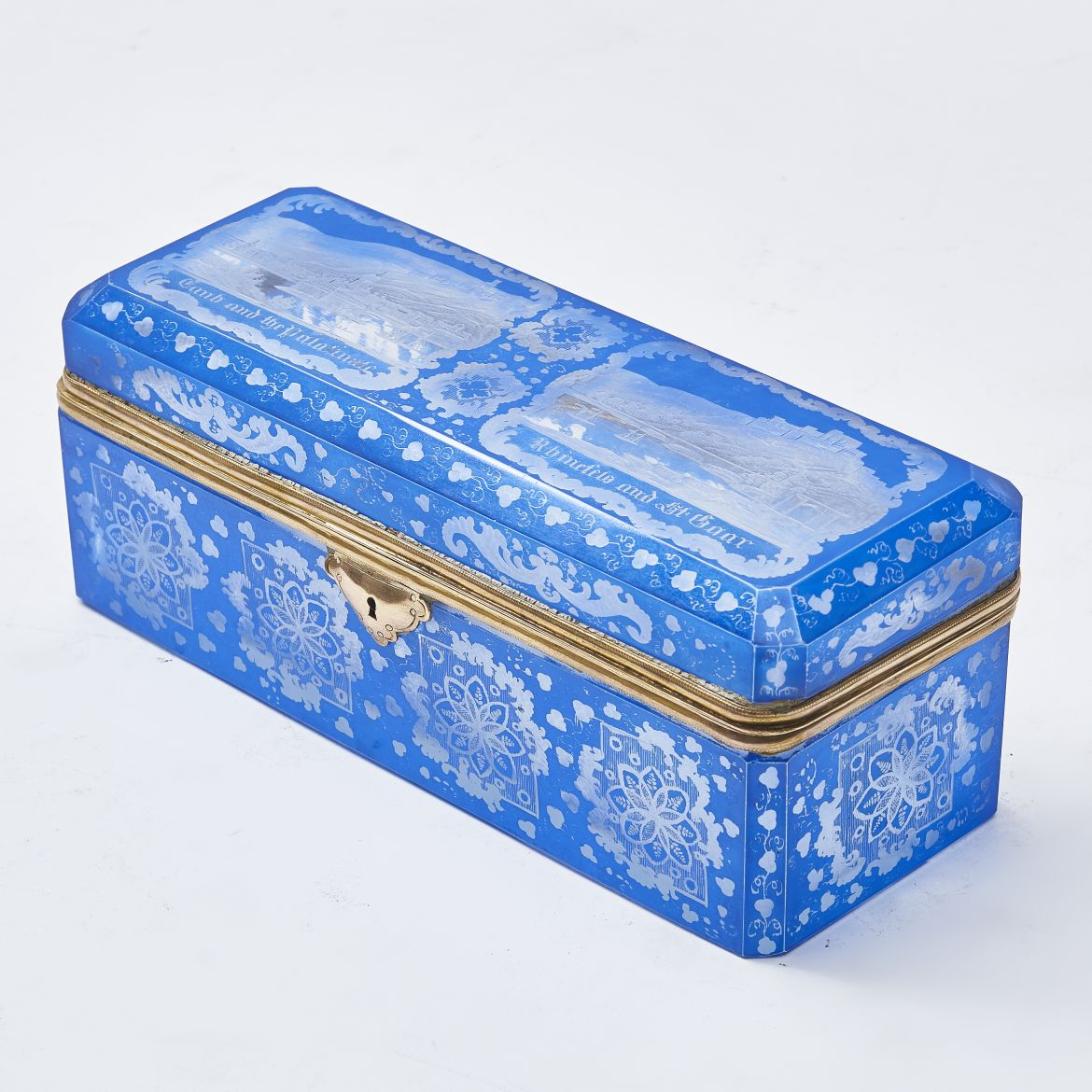 Bohemian Blue Flash Cut Box
