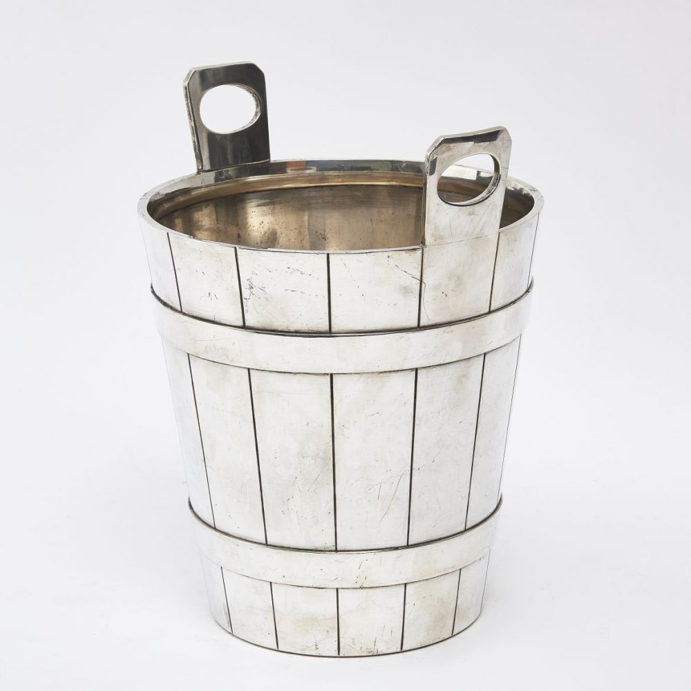 Silver Plate Champagne Bucket Stamped Calderoni