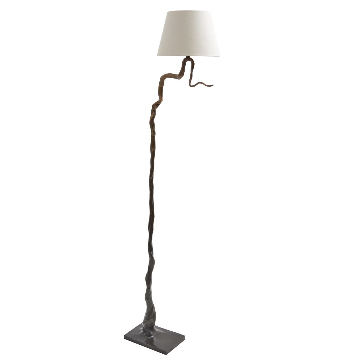 Contemporary Bronze Standard Lamp